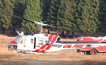 fire camp helicopter