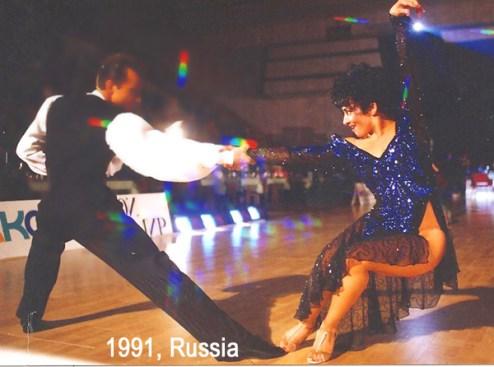 Teresa Sigmon Bob Powers American Rhythm ballroom dancing Russia Sew Like A Pro
