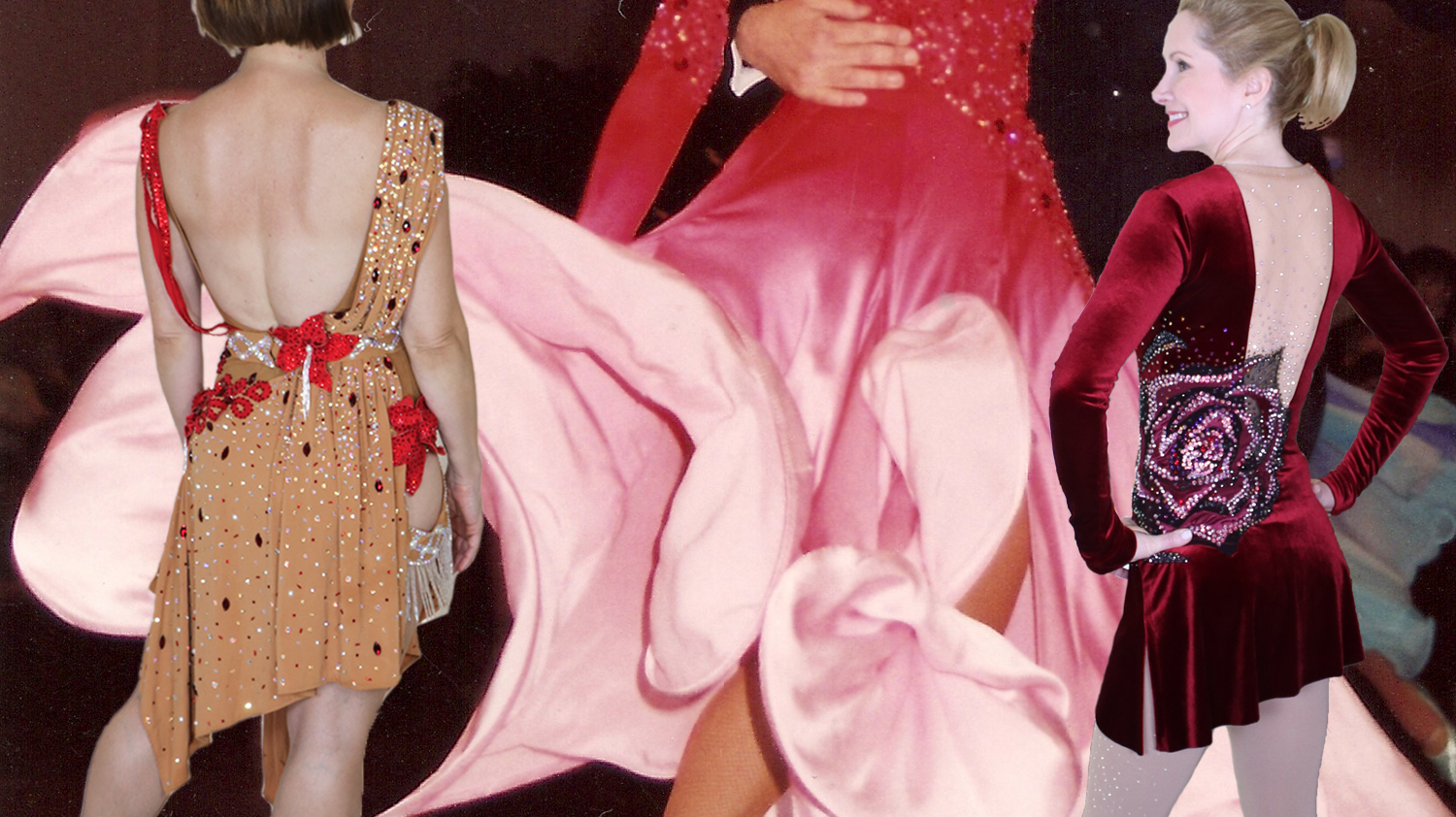 Stretch Fabric DOs and DON'Ts for ballroom dancing and figure skating dresses