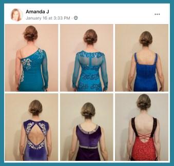 back neckline photoshoot by Sew Like A Pro™ member Amanda