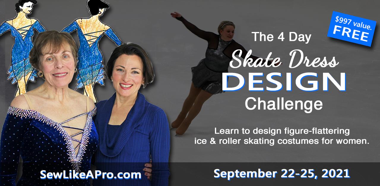 Women's Skating Dress Design Class, 4 free days