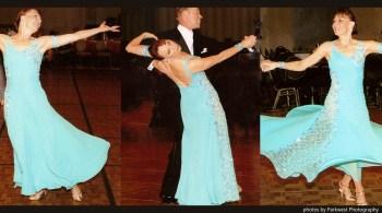 Teresa Sigmon shares three ways to change this Dancesport gown.