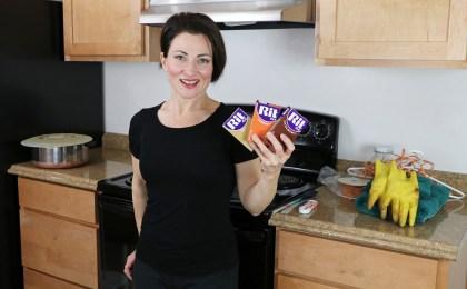 Teresa Sigmon shares how to dye flesh color elastic