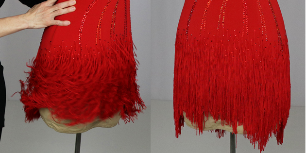 Fun, Fabulous Fringe for Latin and Skate Skirts