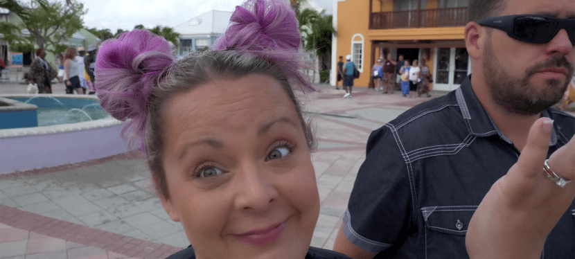 Grand Turk in a Golf Cart | Carnival Horizon Cruise Vlog Day 04