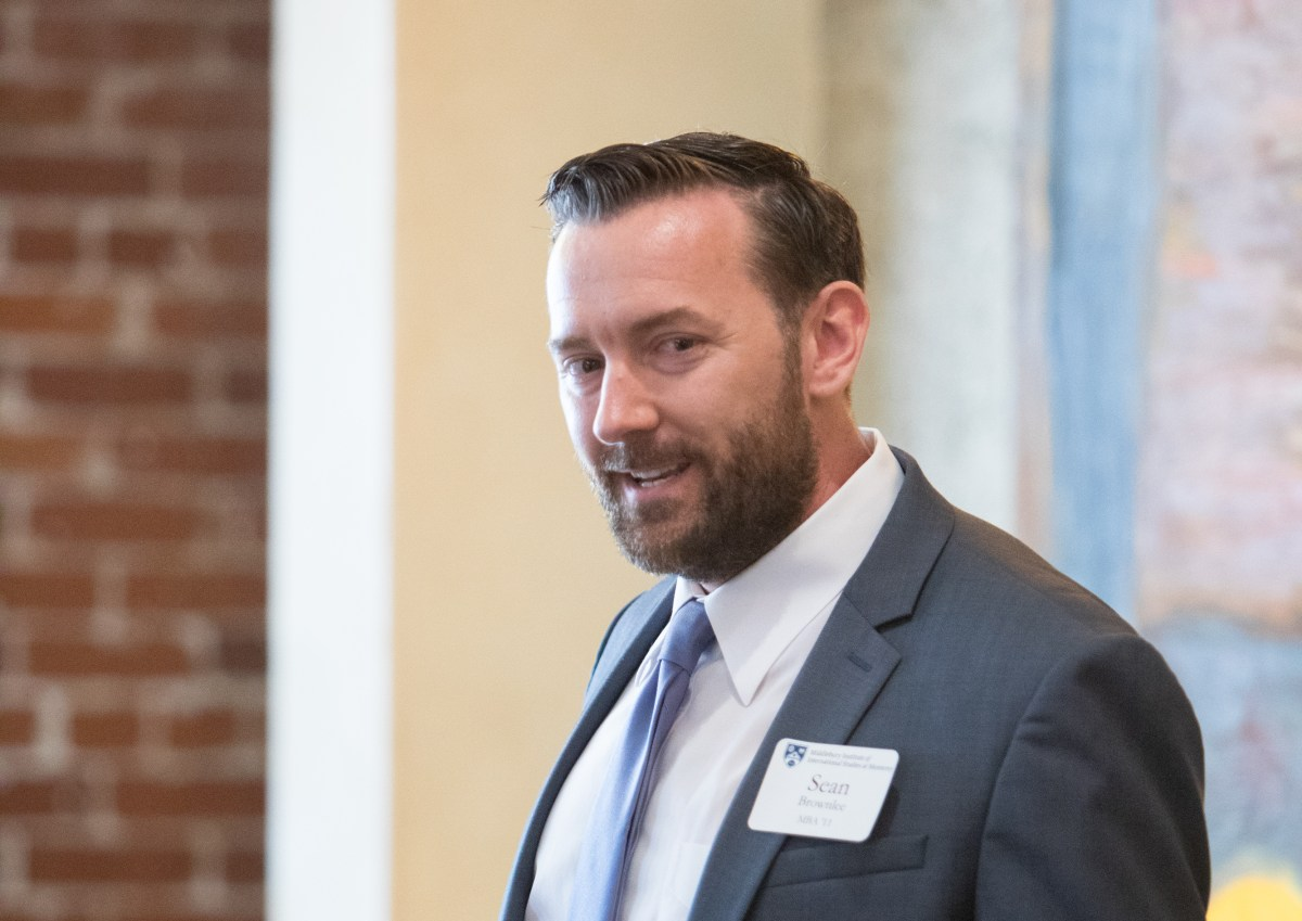 Sean Brownlee Speaks as Management Consultant and Small Business Owner at Event for Small Business