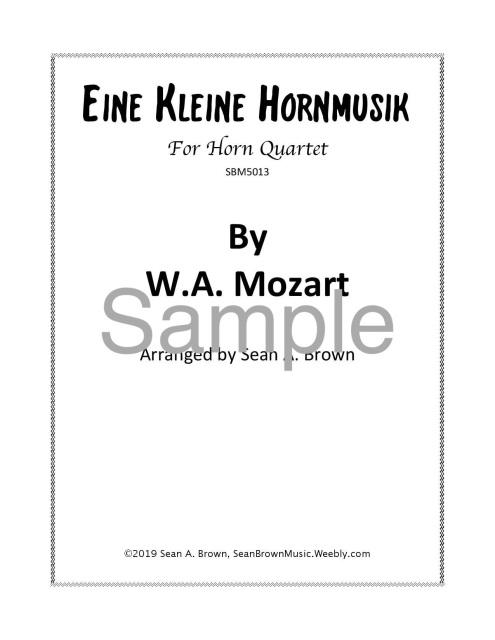 Horn Ensemble (4+ Players)