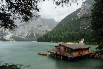 Lake braies Prags wildersee Italy