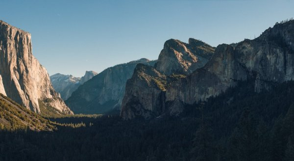 Yosemite Valley Panorama-1