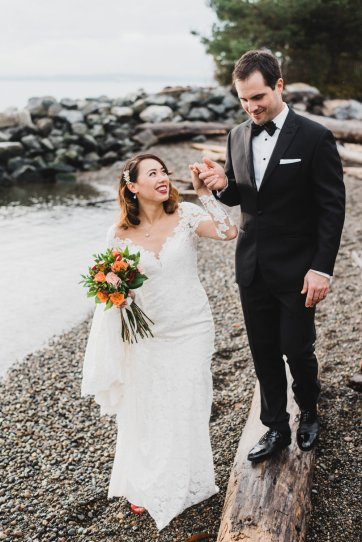 The Edgewater Hotel Downtown Seattle Wedding