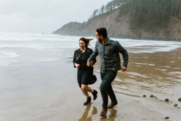 Ecola State Park Engagement Session