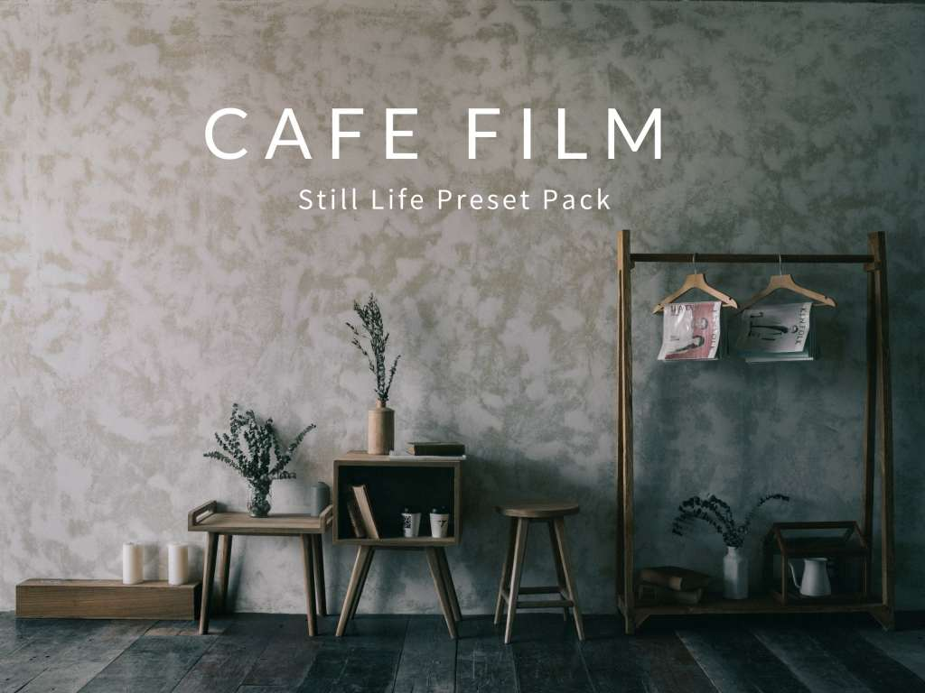 Cafe & Food Film Style Lightroom Preset Pack
