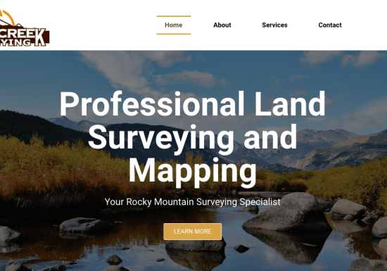 Clear Creek Surveying - Mountain Surveying Specialist
