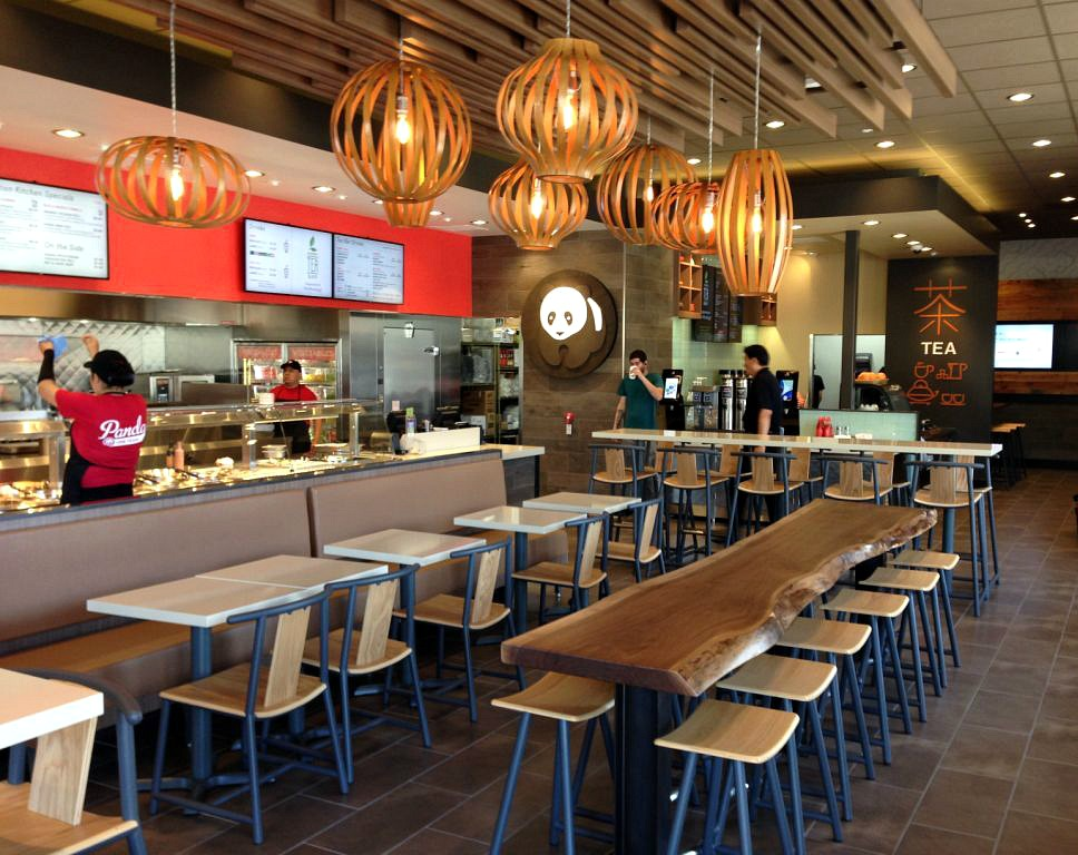 Panda Express Flagship Store Interior Design by Sean Dix