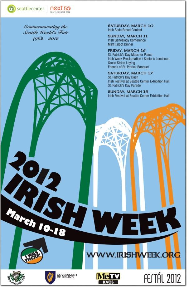 Irish Week Poster