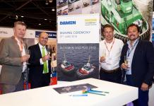 Contract signing Damen Shipyards and Iskes