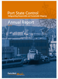 Port State Control-Annual Report