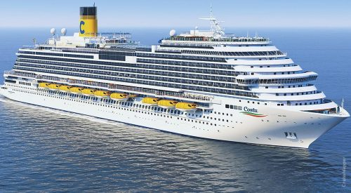 COSTA CRUISES HOLDS STEEL-CUTTING CEREMONY FOR THE COSTA TOSCANA, ITS SECOND LNG-FUELED SHIP - Sea News Global Maritime News