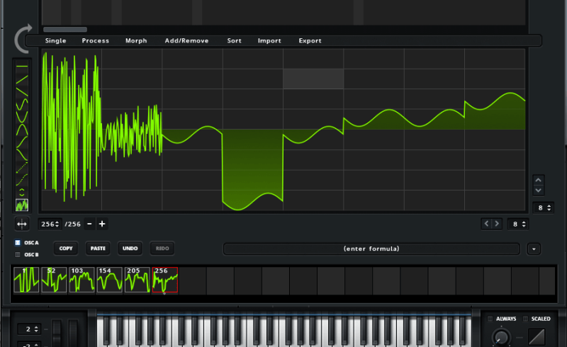 Nifty Screen Shot At Am Wavetable Synsis A Closer Look At