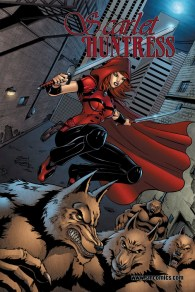 Scarlet Huntress: Tales Through Time Cover, All Art Sean Forney
