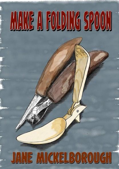 Make a folding spoon