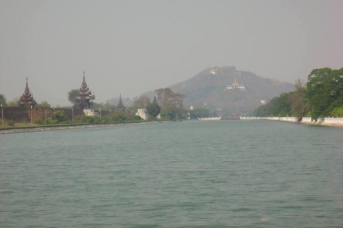 Mandalay Hill, Mandalay, Myanmar