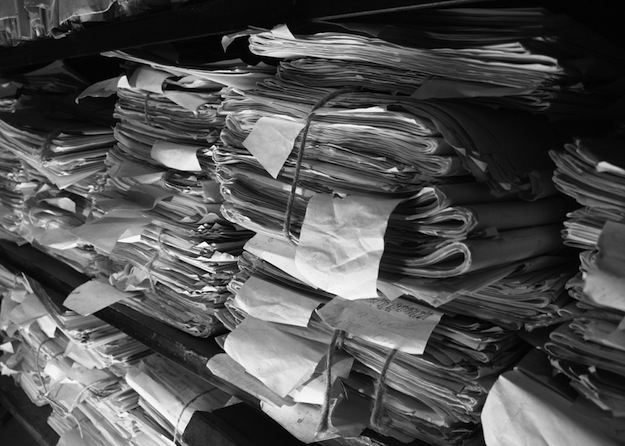You have a limited right to look through records like this. But the federal government has done little to help Canadians exercise those rights. (Photograph by Shutterstock.com)