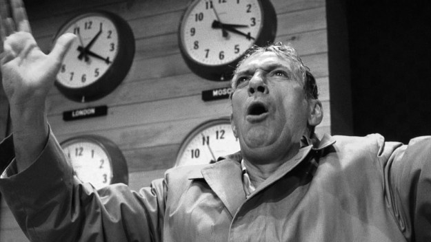 Are Canadian journalists having a Howard Beale moment? (Photograph by Metro-Goldwyn-Mayer)