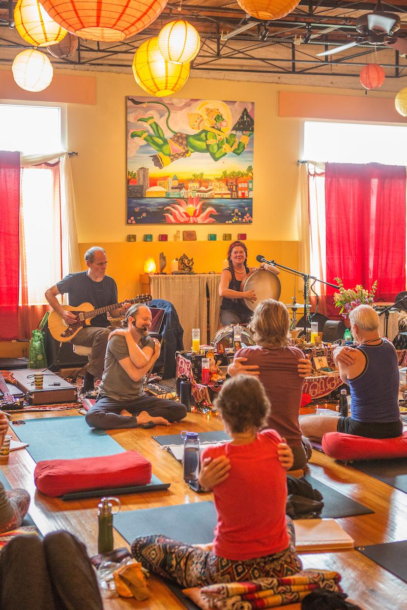 Heart Of The Village Yoga : heart, village, Johnson, Lotus, Heart, Village, Presents, Bhakti, Weekend