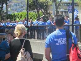 Harvey Milk Plaza and Harvey Milk T-shirts
