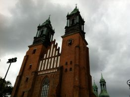 The cathedral of Poznan