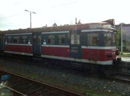 Old Polish railway stock in Rzepin