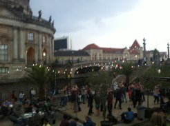 Dancing along the Museumsinsel