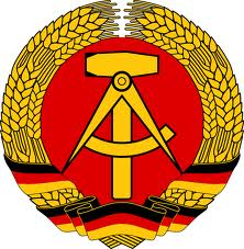 The 'logo' of the former East Germany