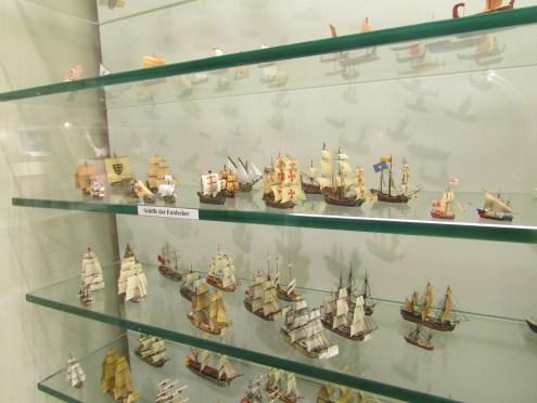 Sailing ship models