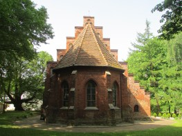 Old German Church in (now Poland) Pomeriana