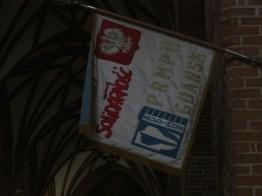Inside the 'solidarity church' in Gdansk/Danizg.