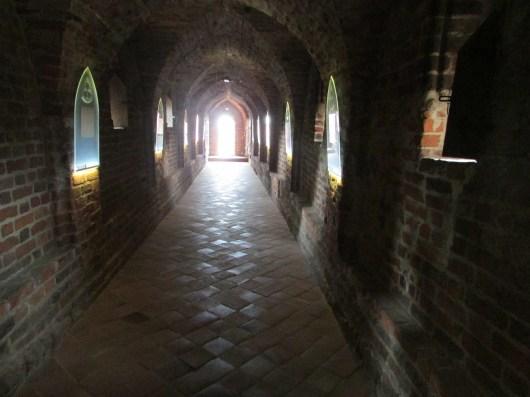 In the Teutonic Castle, Torun, Poland