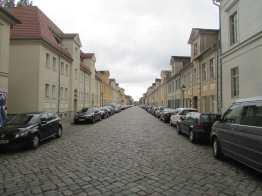 18th century side street, Potsdam