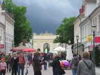 Walking around in Potsdam