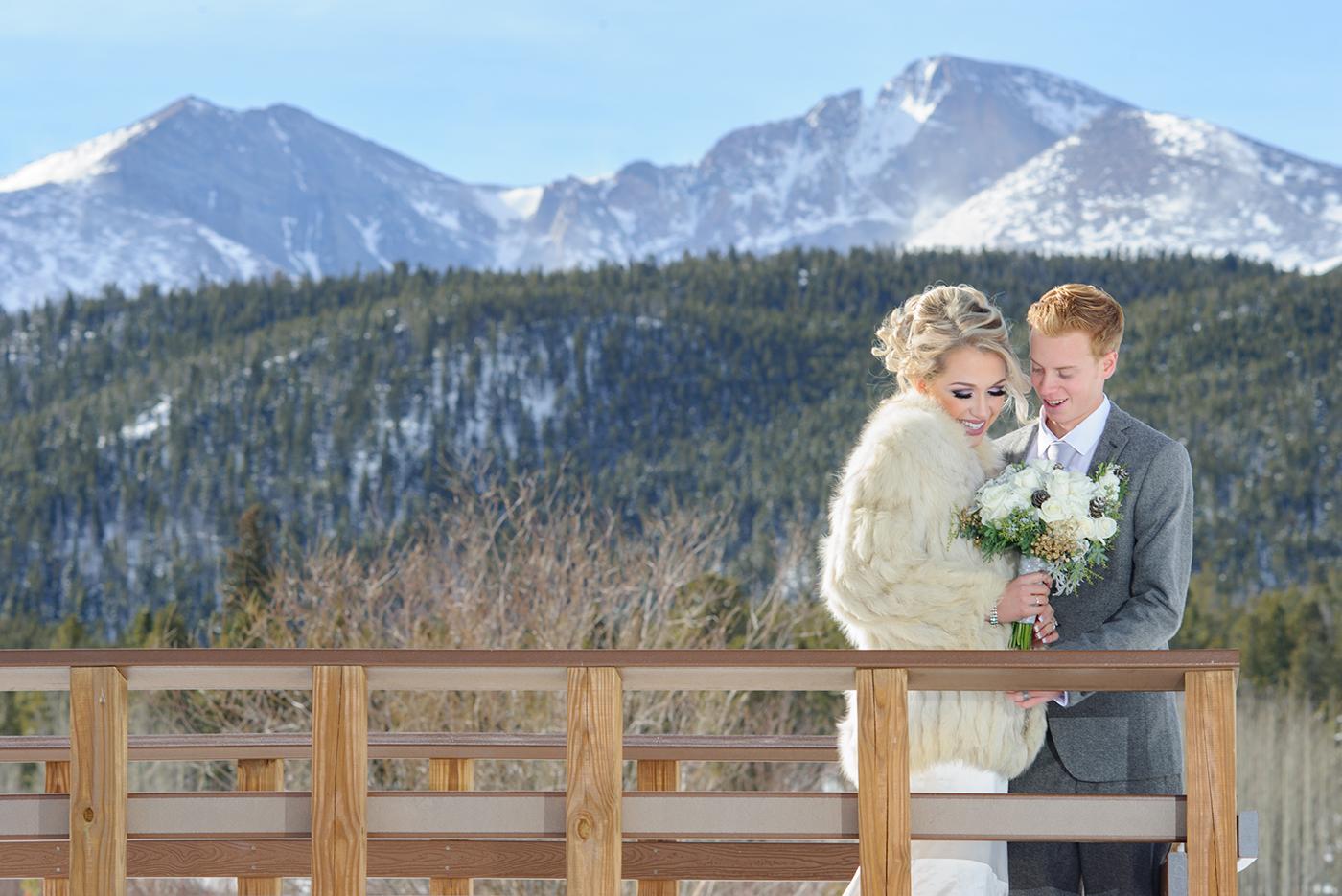 Small Winter Wedding Photos