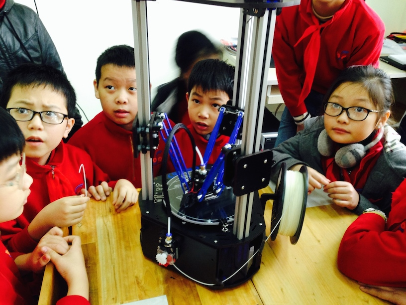 3D Printing Chess Pieces at Blue Sky Academy