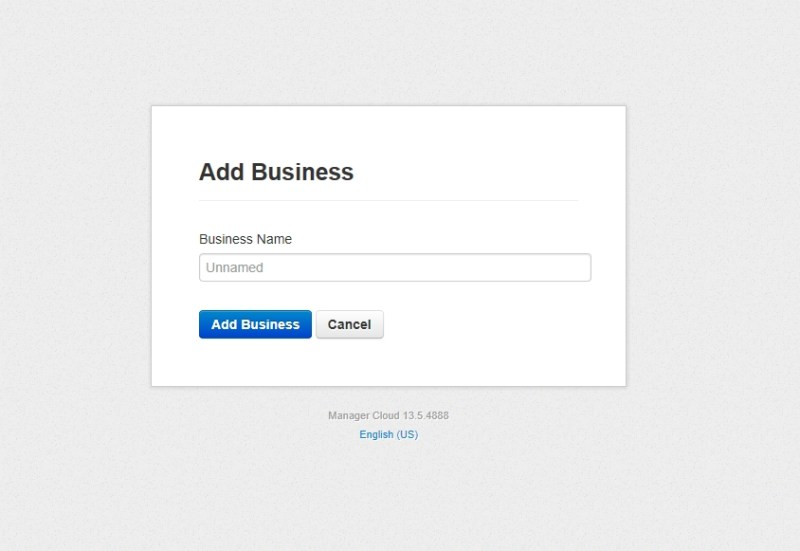 add business name