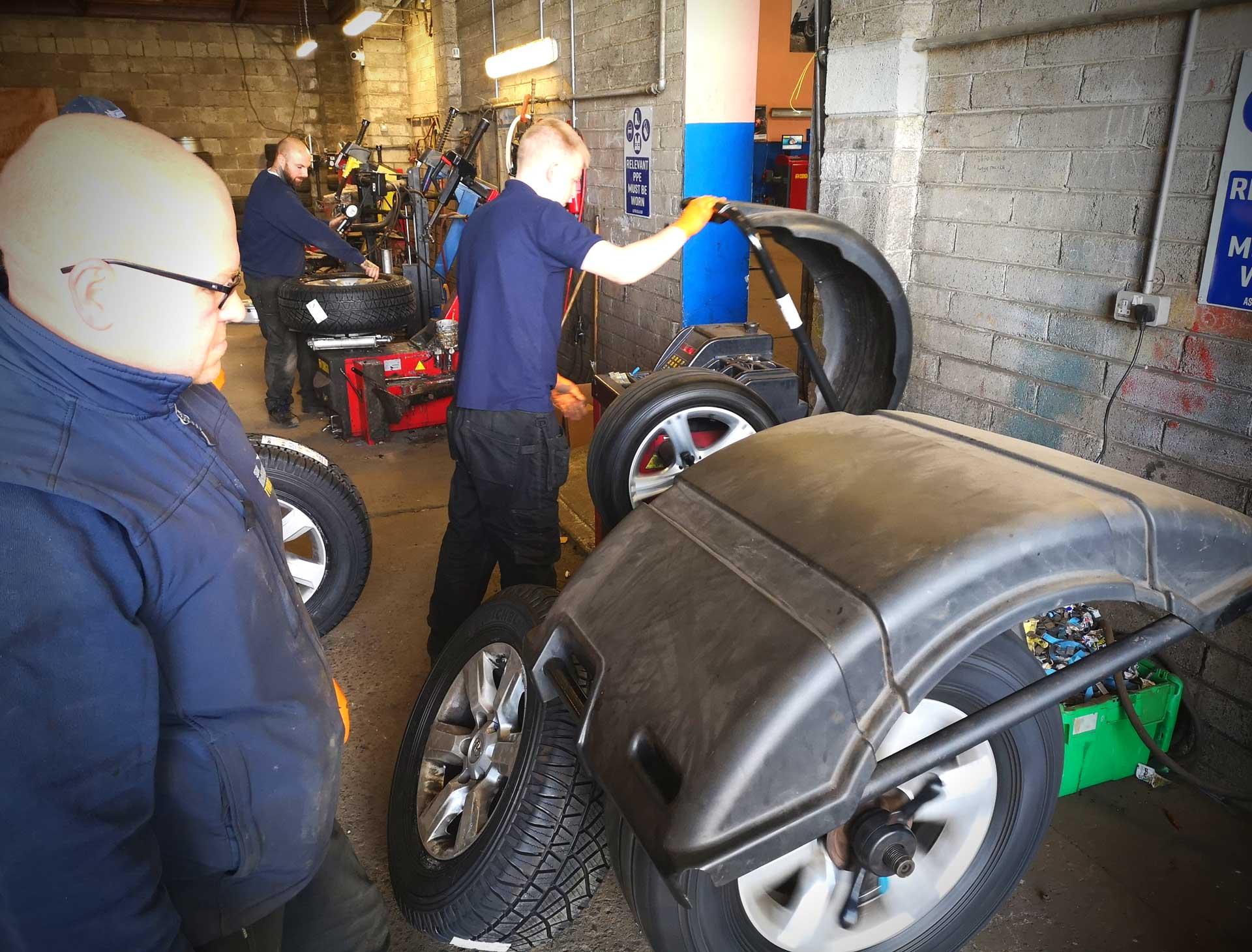 Tyre Quote - Sean McManus Tyres