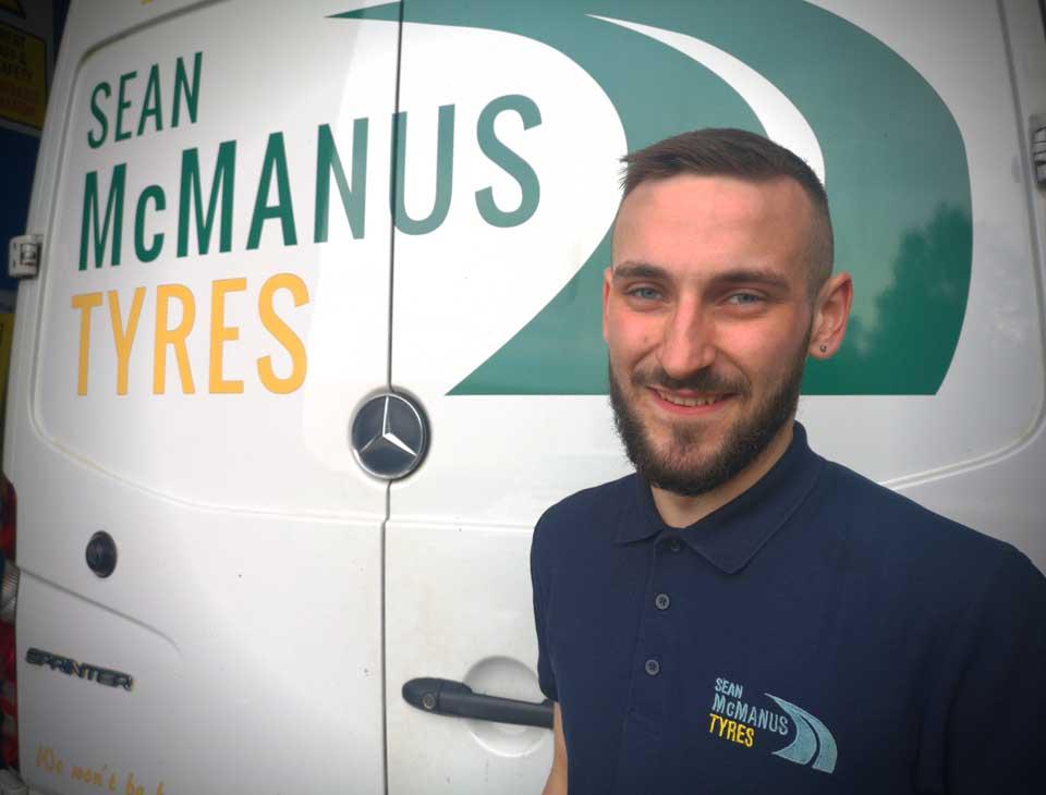 Meet the Team - Dillon Byrne - Sean McManus Tyres