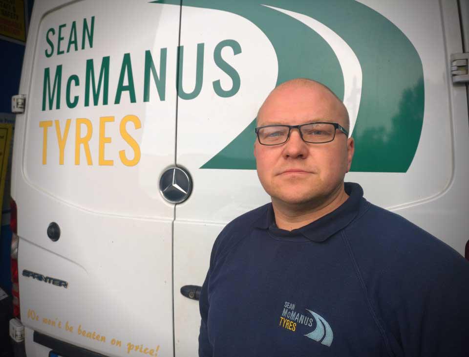 Meet the Team - Uvis Brokans - Sean McManus Tyres