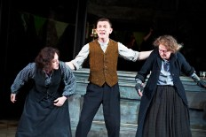 The Plough and the Stars 2012 Abbey Theatre, Deirdre Molloy, Tony Flynn, Gabrielle Reidy, Photo Credit Ros Kavanagh