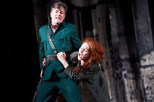 The Plough and the Stars 2012 Abbey Theatre, Barry Ward and Kelly Campbell, Photo Credit Ros Kavanagh