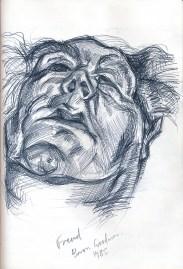 Sean Payne, sketchbook