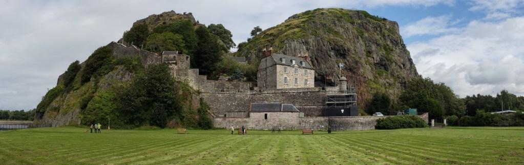 Dark Ages Britain Dumbarton Castle